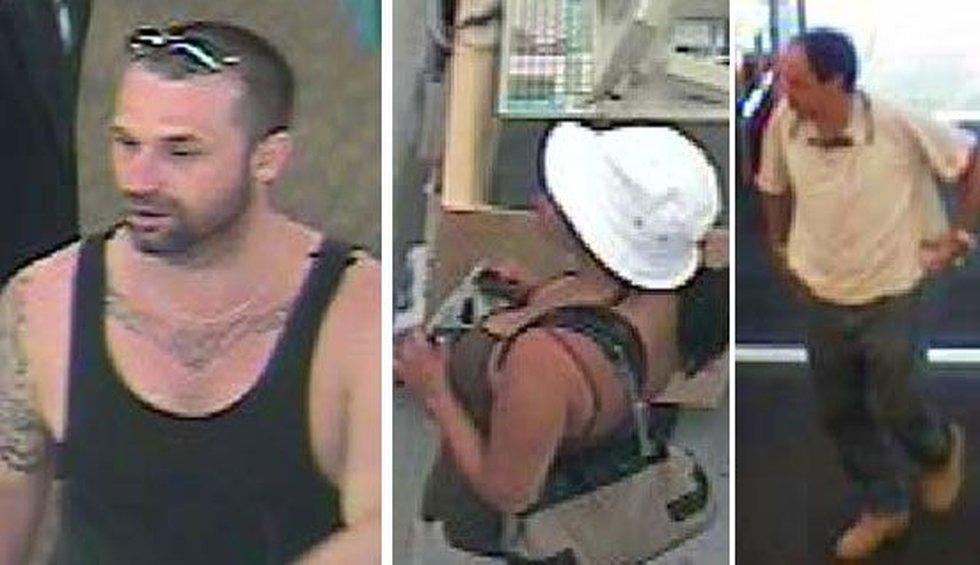 Three suspects seen on surveillance video (Source: Summerville Police)