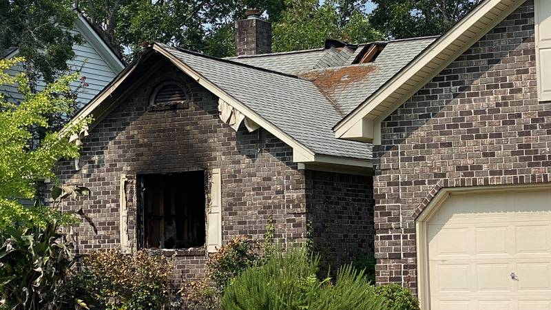 Crews responded to the structure fire on Detyens Road at about 7:30 a.m. and found a single...