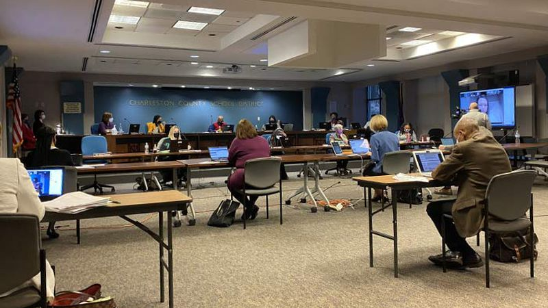 As COVID-19 cases continue to rise in Charleston county, school district leaders are finalizing...