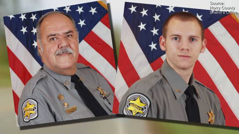 Stephen Flood (left) and Joshua Bishop were terminated from HCSO Wednesday. (Source: HCSO)