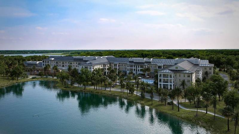 The 9-acre property is being developed by Big Rock Partners Real Estate and it is being planned...