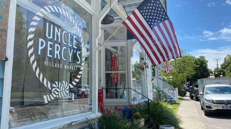 The owner of Uncle Percy's Village Market in McClellanville, Percy Smith, says he has delayed...