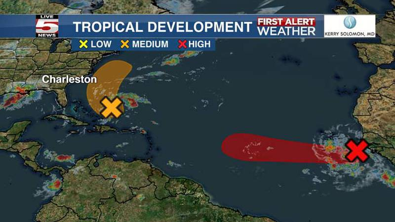 The National Hurricane Center is watching two systems in the Atlantic expected to develop...