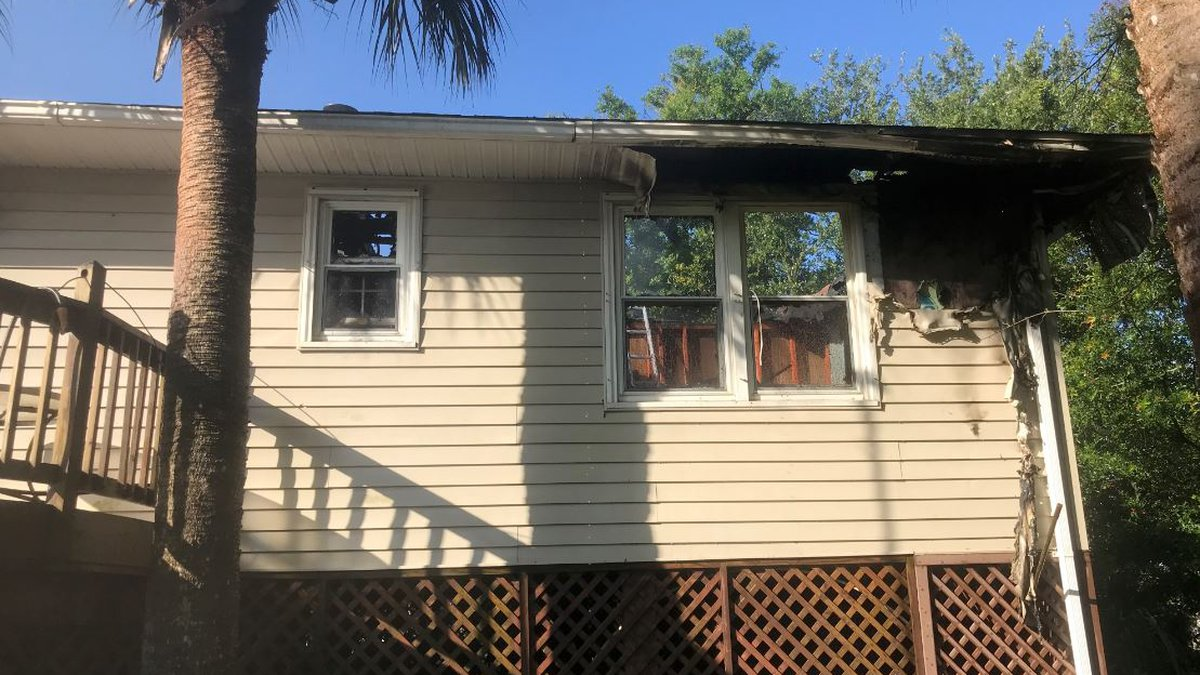 Crews extinguished a house fire on Edisto Island on Thursday morning (Source: St. Paul's Fire...