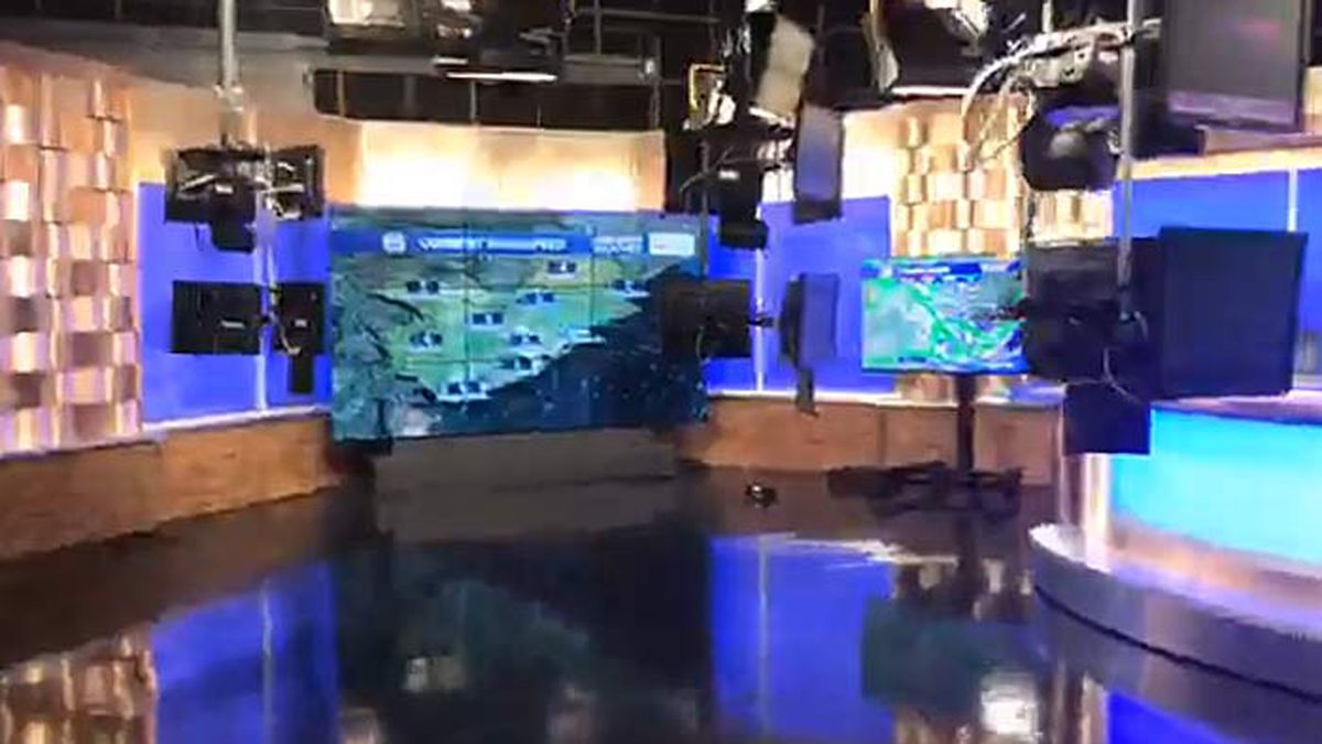 Live 5's Ann McGill gives a behind-the-scenes tour of Live 5 Studios in West Ashley.