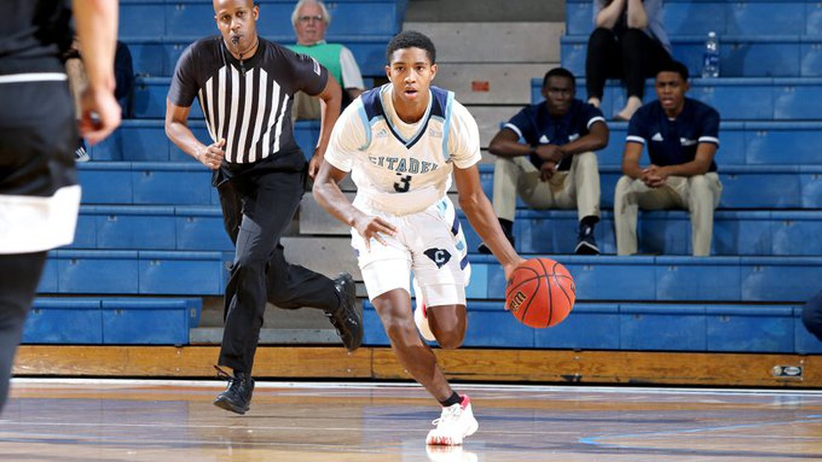 Rudy Fitzgibbons had 25 points to help lead The Citadel to a win over Piedmont on Tuesday night.