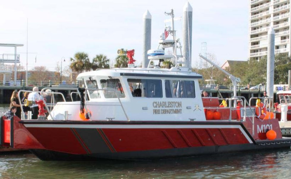 The Louis Behrens was placed in service on 11/30/2012. Source: Fire Marshal Mike Julazadeh.