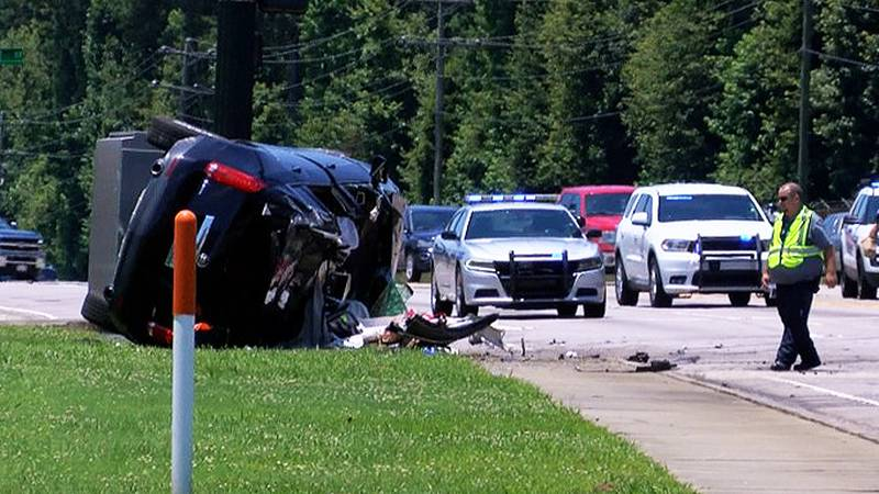 Three people have been transported to the hospital following a collision in Goose Creek...