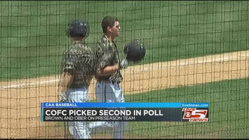Video: CofC picked 2nd in CAA preseason poll
