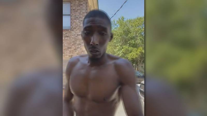 King doing a Facebook Live which showed his arrest a few days after the riot.
