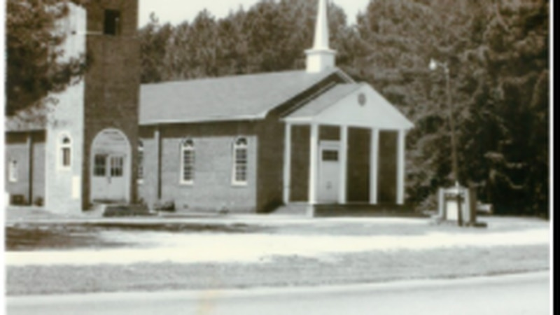 The four families that founded Unity Missionary Baptist Church first held worship services...