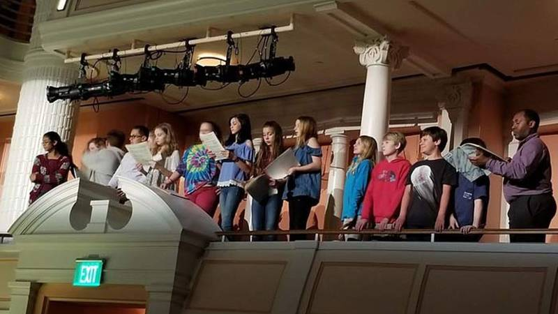 Under the direction of Burgess and Andrea Scheulen, The Mustang Voices have performed on many...