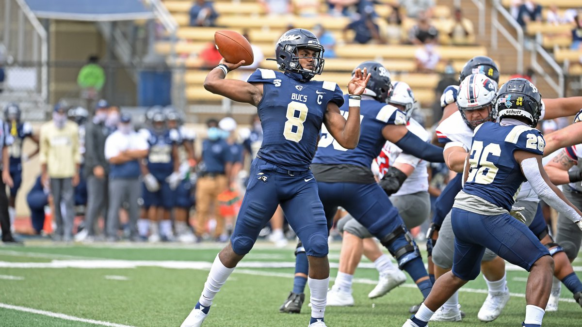 Paced by a pair of Terrence Wilson rushing touchdowns and Isaac Ross' first collegiate 100-yard...