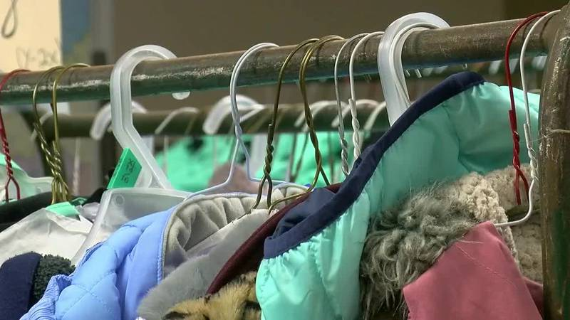 We spoke with some families about what this coat donation means to them before the colder...