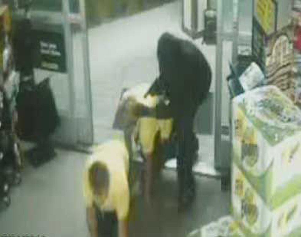 A gunman forced clerks at the Dollar General in Summerville to crawl back into the business...