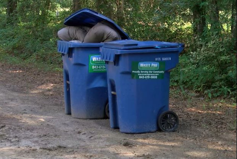 Many people who live in the area say they have been taking their trash to a dump themselves....
