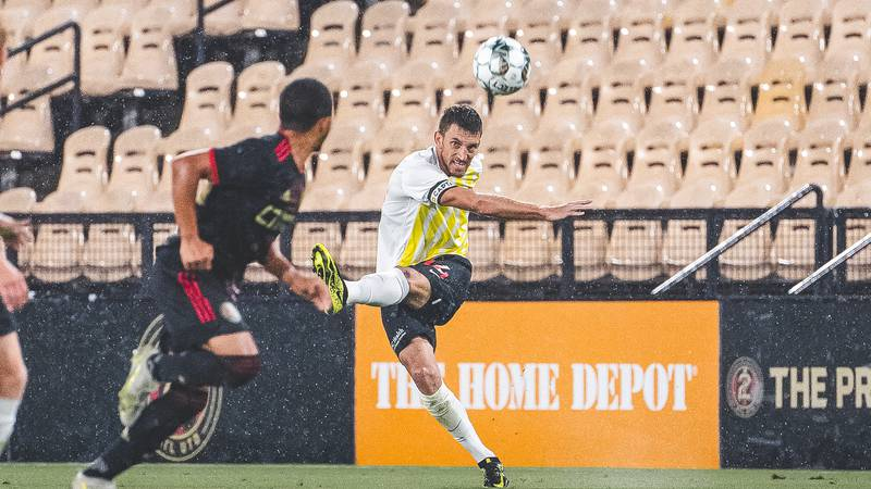 The Battery earn a 1-1 tie against the Atlanta United 2 at Fifth-Third Bank Stadium in Atlanta,...