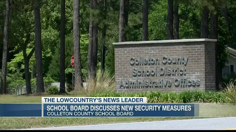 VIDEO: Colleton County School District votes to beef up security
