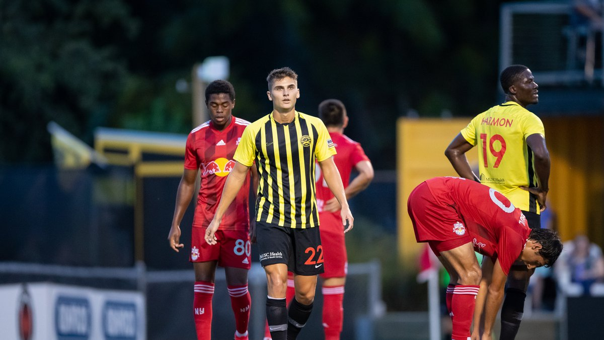 The Battery came up short at Patriots Point on Wednesday in a 3-2 loss to NY Red Bulls II