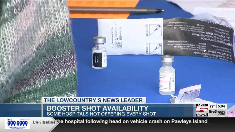 VIDEO: Booster shot availability: Some hospitals not offering every shot