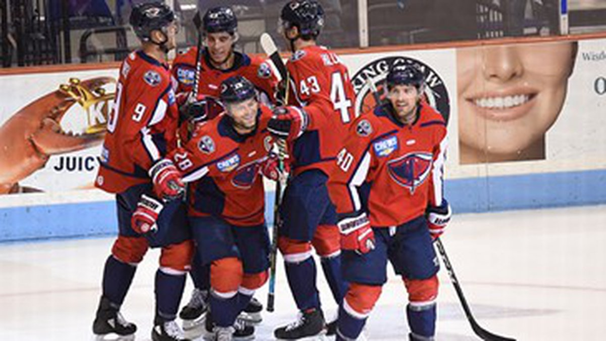 The Stingrays made up a 4-1 deficit to earn  5-4 win over Indy on Wednesday