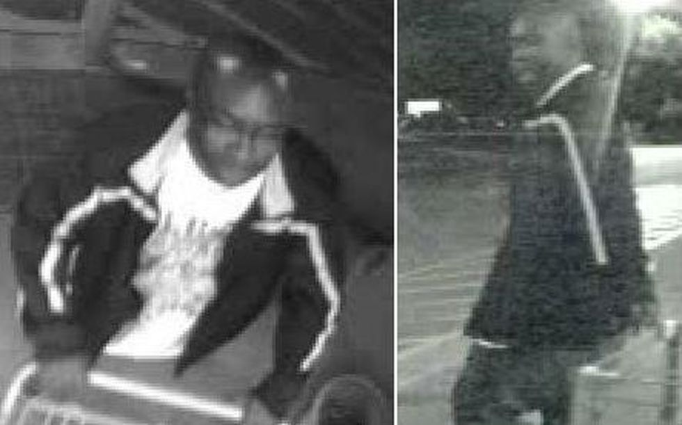 Two images of the suspect. (Source: GCPD)