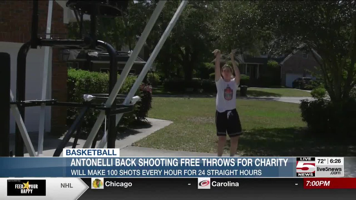 Mt. Pleasant's Debbie Antonelli will be holding her annual Nothing But Net free throw shooting...