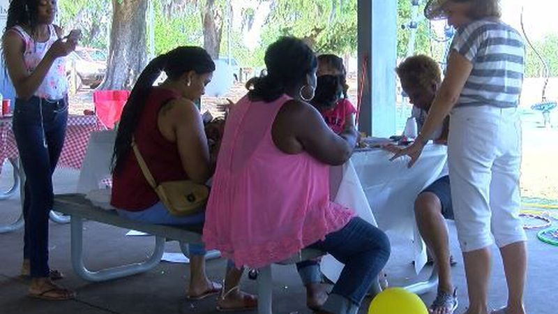 Approximately 200 gathered for the 19th annual Homicide Survivors Picnic Saturday. (Source:...