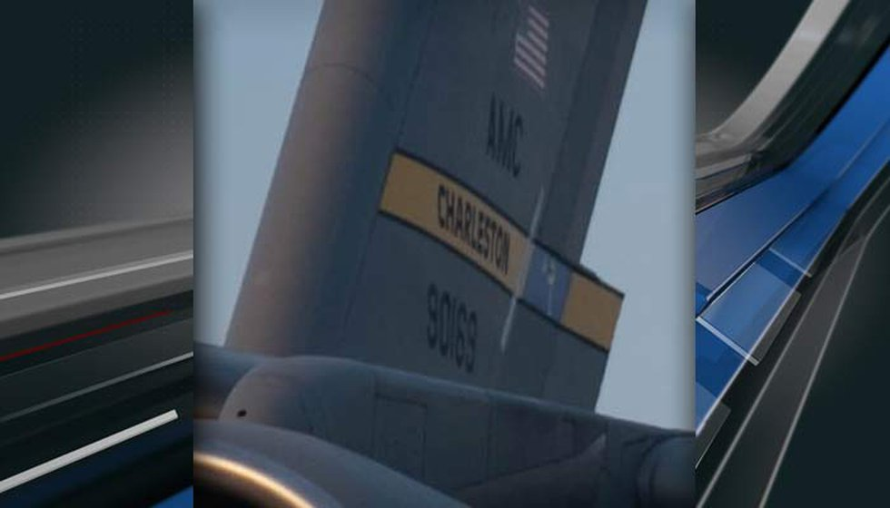 A Joint Base Charleston spokesperson confirmed tail markings in photos released by the U.S....