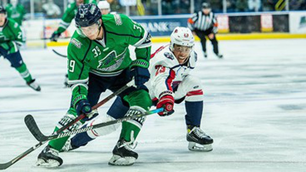 The Stingrays dropped game 3 of their best of 5 series in Florida on Saturday, 5-1