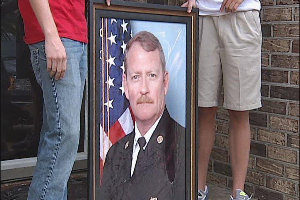 The portrait of Capt. Benke.