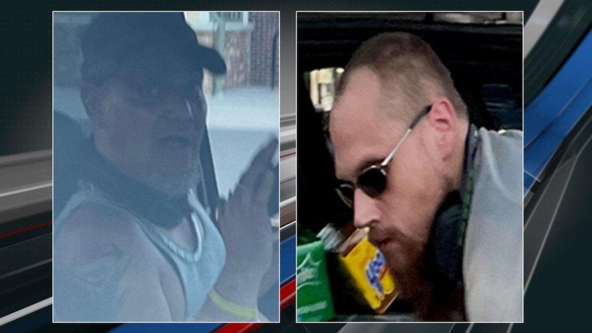 Deputies are asking for the public's help to find two men wanted for shoplifting at a grocery...
