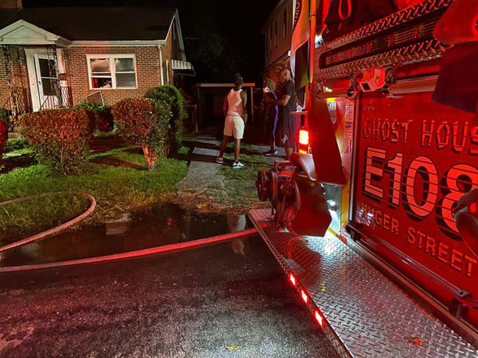 When they got to the scene, firefighters say they saw fire and smoke venting from the...