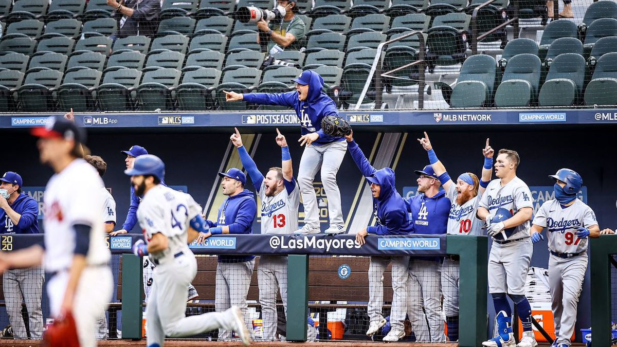 The Dodgers scored 11 runs in the 1st inning on Wednesday en route to a win over the Braves in...
