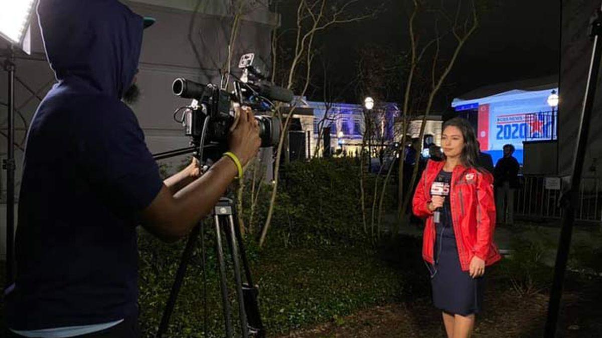 Live 5 reporter Paola Tristan Arruda, shown here covering the Democratic Presidential Debate in...