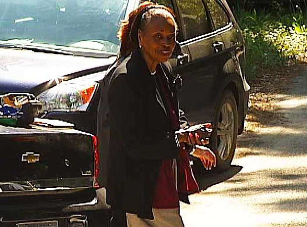 Authorities arrest Andrea Magwood Thursday morning.