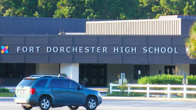 Students at one Dorchester District 2 school are being forced into virtual learning Friday...