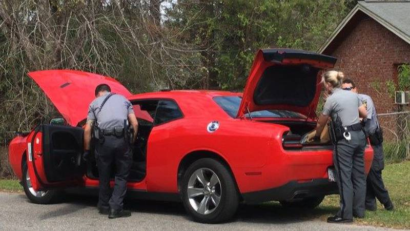 Charleston County Sheriff's Office officials say a deputy pulled a car over for a traffic...