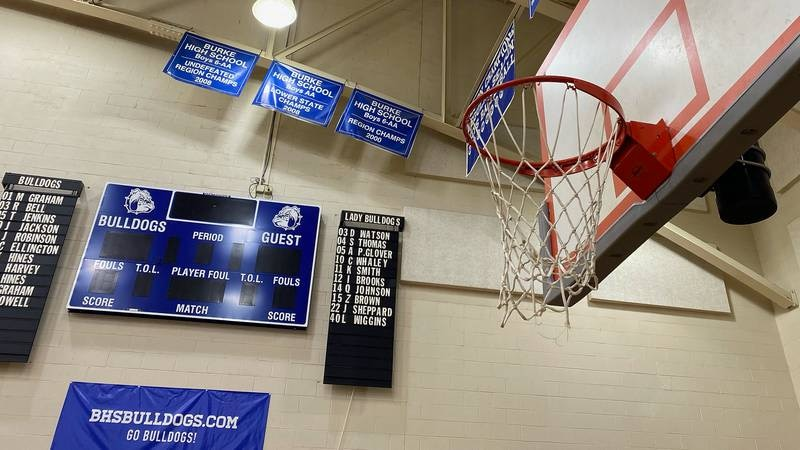 Charleston County School District schools resumed winter sports competitions on Monday.