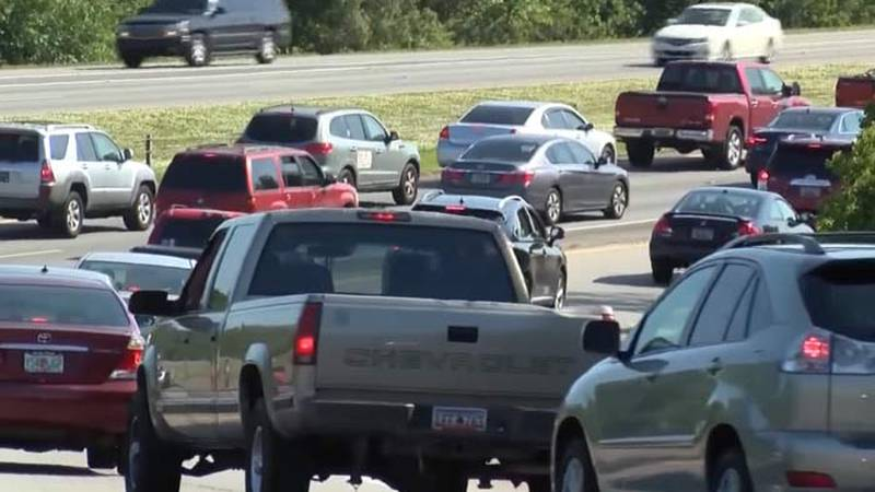 Vehicle travel is up from pre-pandemic levels, increasing congestion and traffic accidents, a...