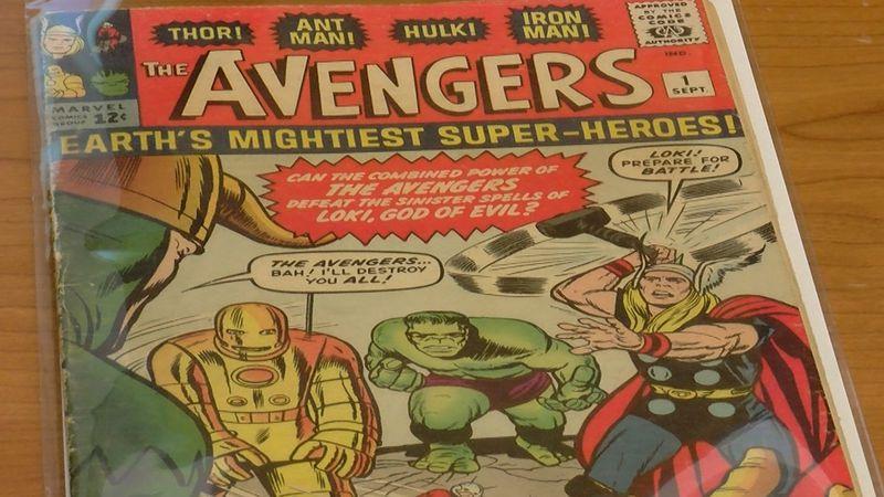 """The Avengers"" comic book at University of South Carolina"