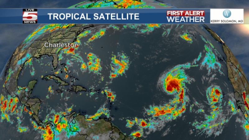 Days away from the official peak of hurricane season, forecasters are watching four systems...