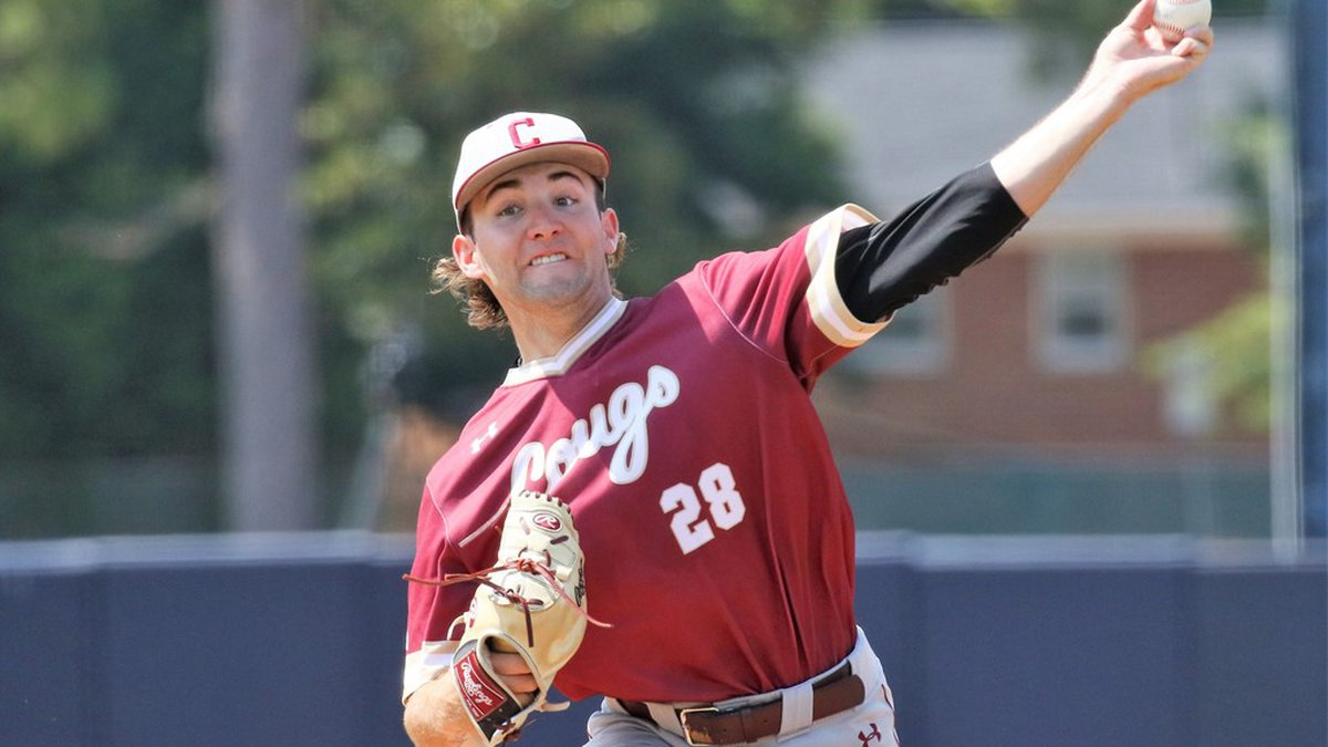 The College of Charleston won their first elimination game on Friday with an 8-3 victory over...