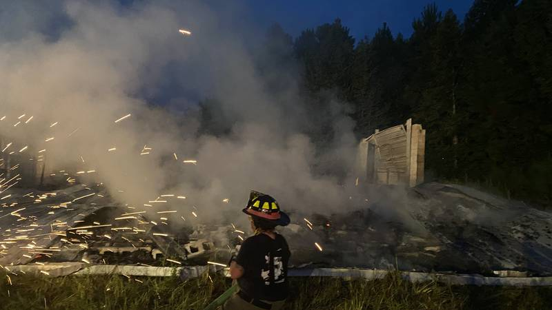 Firefighters responded at approximately 5:30 a.m. to a fire reported in the 1300 block of Old...