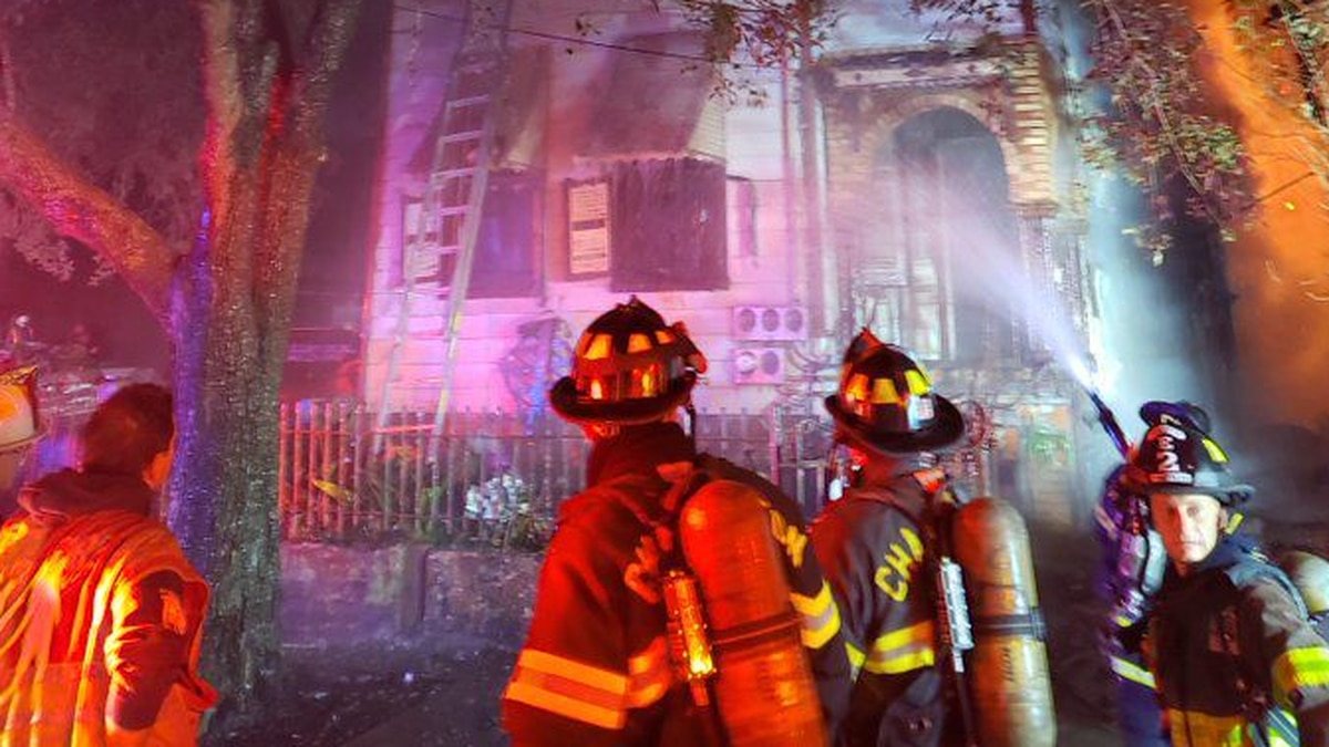 The City of Charleston Fire Department says crews responded to the scene of a structure fire in...