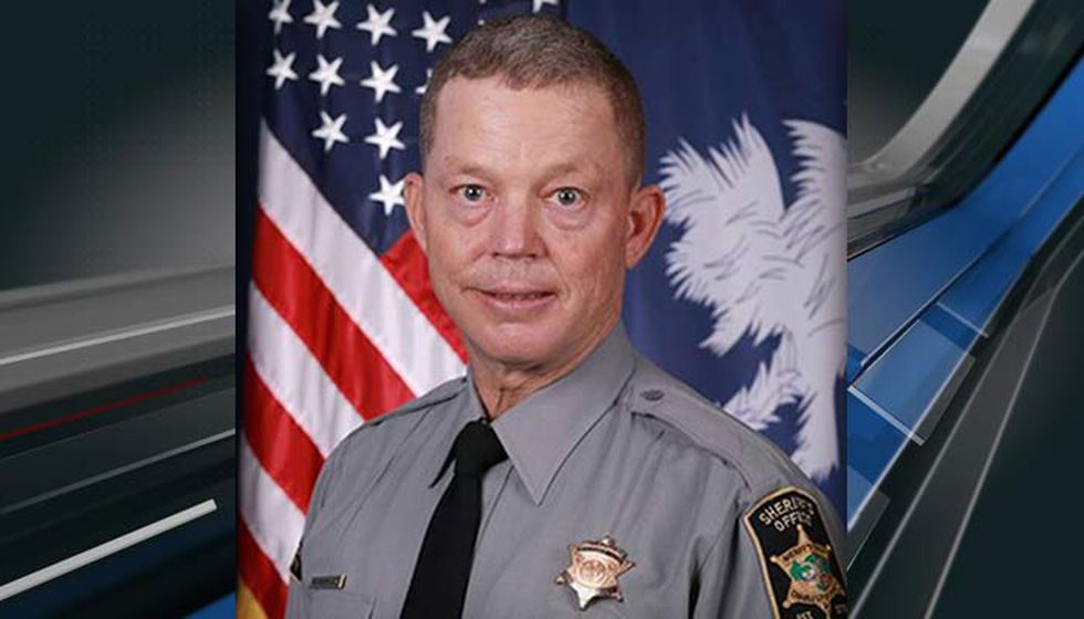 Deputy Michael Costanzo who was injured in the crash on the Don Holt Bridge Wednesday afternoon.