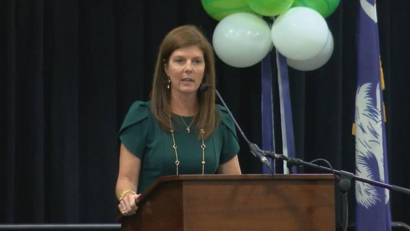 South Carolina Lt. Gov. Pamela Evette is set to speak Tuesday at an annual legislative lunch in...