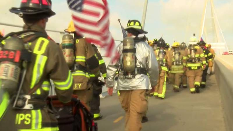 The 9/11 Silent Walk pays tribute to the nearly 3,000 people who lost their lives on Sept. 11,...