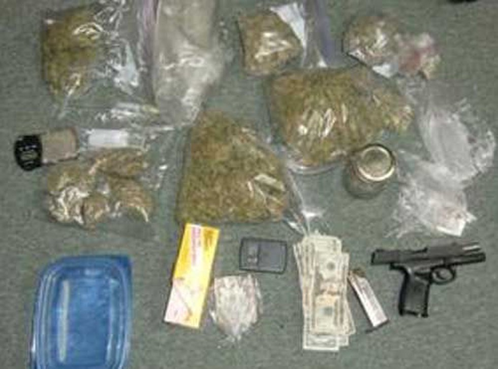 Evidence confiscated in the investigation.