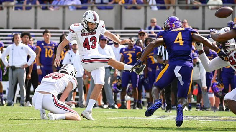 South Carolina kicker Parker White was named the SEC Co-Special Teams Player of the Week on...